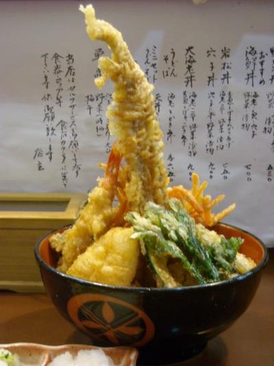 09/07/07天丼の岩松 海鮮丼(大盛)2