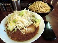 14/11/18 小つけ麺(ニンニク、ヤサイ)3