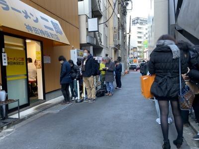 19/12/28ラーメン二郎新宿歌舞伎町店 01
