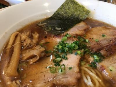 16/10/26八雲 バラ肉チャーシュー麺+チャー