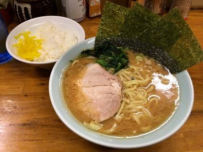 17/11/29髙根家 ラーメン+小ライス 02