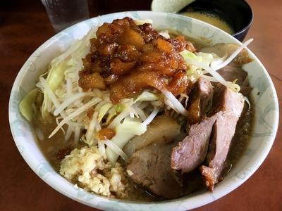 17/04/12め二郎 つけ麺02