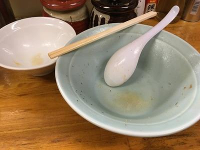 17/02/01髙根家 ラーメン+味玉 13