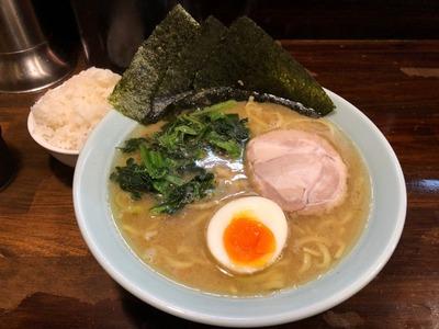 18/05/10横浜ラーメン一八家鹿島田店 01