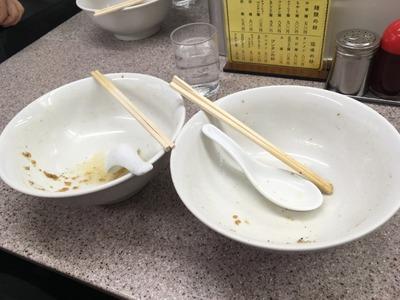 16/10/25喜楽 もやしワンタン麺 12