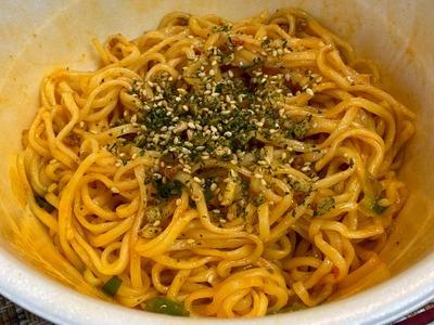 20/05/02日清鳴き龍汁なし担担麺 07