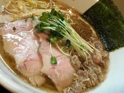 17/09/11麺や勝治 味玉塩らーめん 7