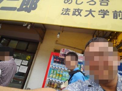 16/06/07め二郎 小つけ麺し(ニンニク、野菜、アブラ)01