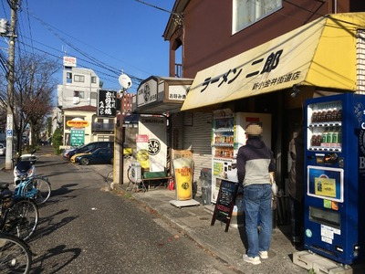 ラーメン二郎新小金井街道店 外観