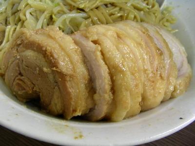 07/09/03 関二郎大ぶたダブル+汁なし+チーズ 2
