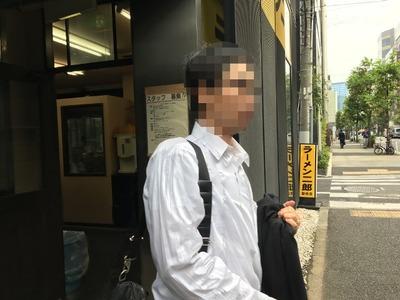 16/10/31ラーメン二郎新橋店 10