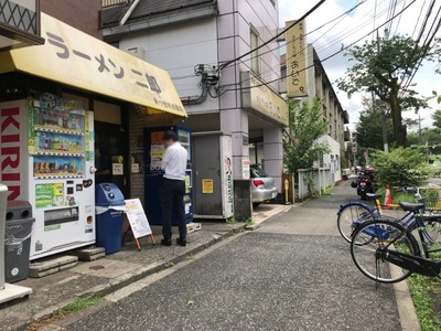 ラーメン二郎新小金井街道店 2018外観