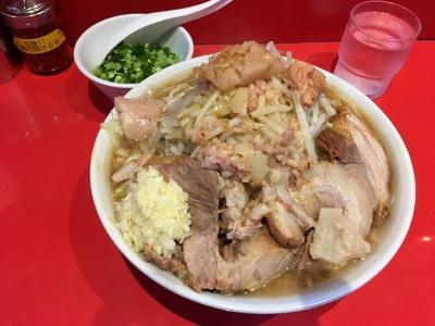 17/07/07ラーメン二郎西台駅前店(仮店舗)07