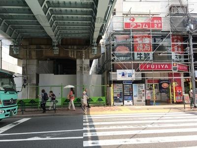 17/07/07ラーメン二郎西台駅前店(仮店舗)17