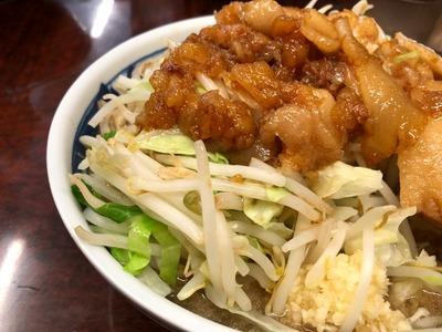 19/10/08ラーメン二郎めじろ台店 06