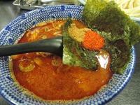 14/07/08節の一分 大勝軒魚介辛み味噌つけ麺+節玉 3