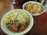 15/06/12め二郎 小つけ麺(ニンニク、野菜)1