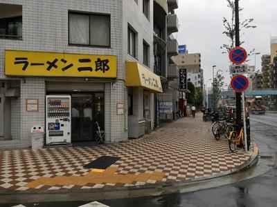 ラーメン二郎亀戸店 外観
