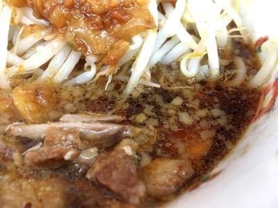 16/09/14め二郎小つけ麺(ニンニク、野菜、アブラ)04