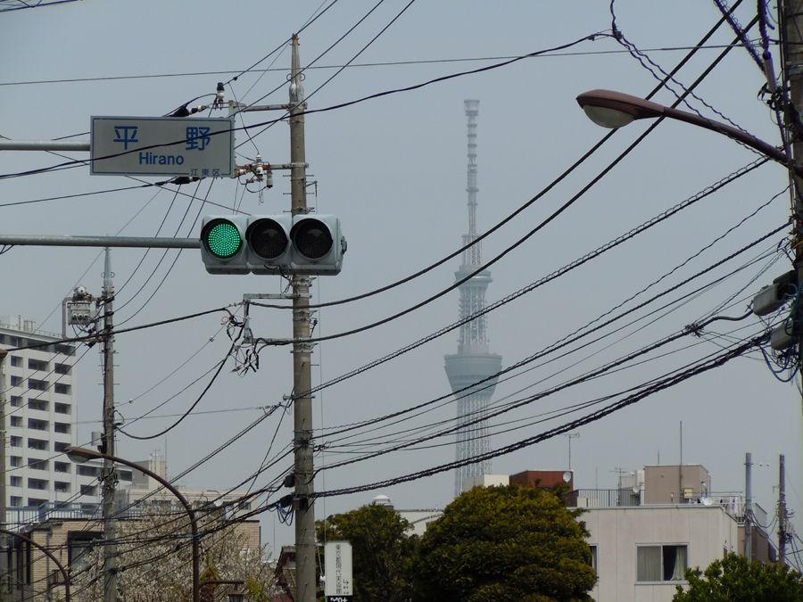 �平野交差点