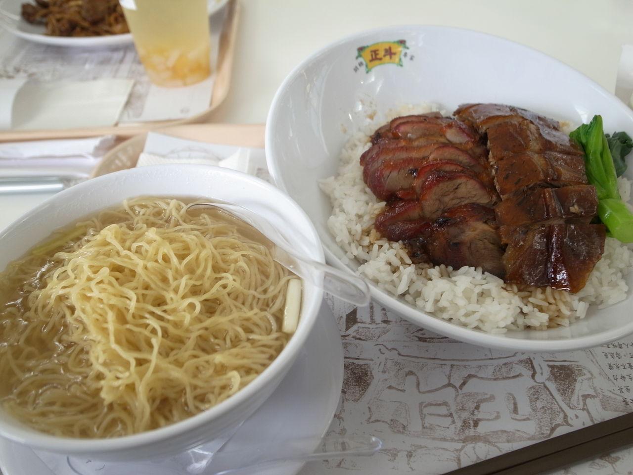 002麺ライス このシンプルな、雲呑麺がまたウマいんですよね~食べ始めは、ちょっとモノ足...