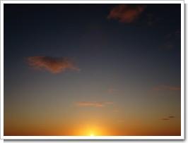 キレイな夕焼け空