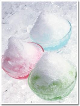 天然カキ氷