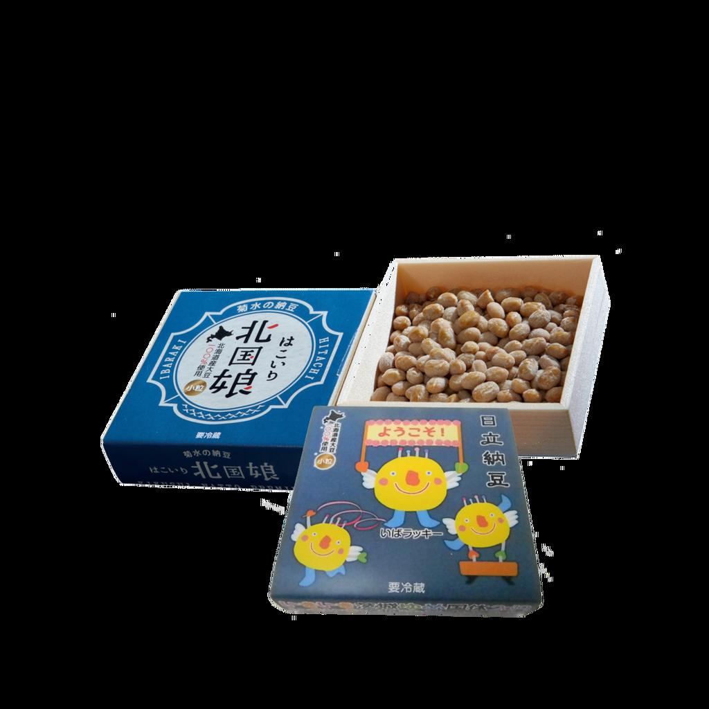 いきいき茨城ゆめ国体2019オリジナル納豆「いばラッキー納豆」こすず