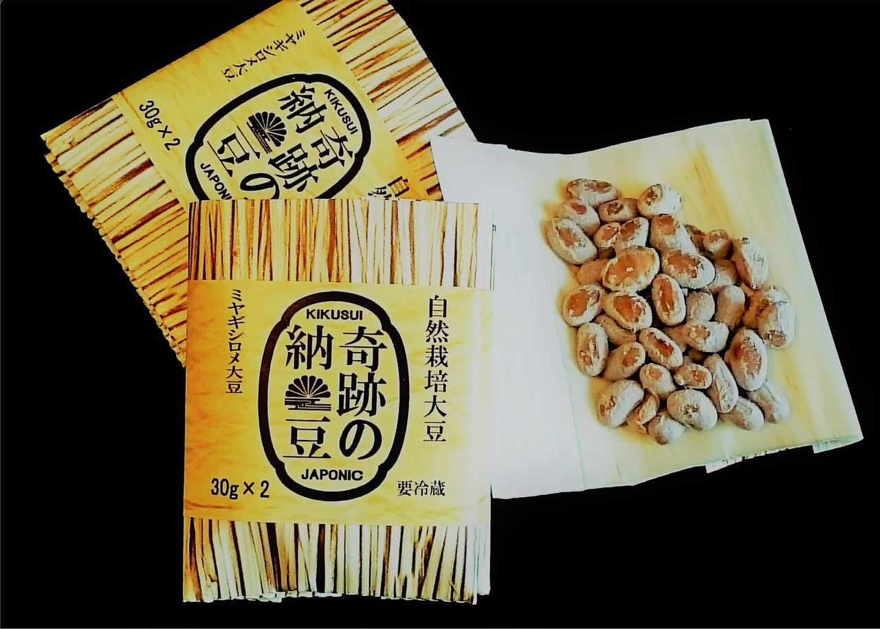 奇跡の納豆 ミヤギシロメ大豆1-1