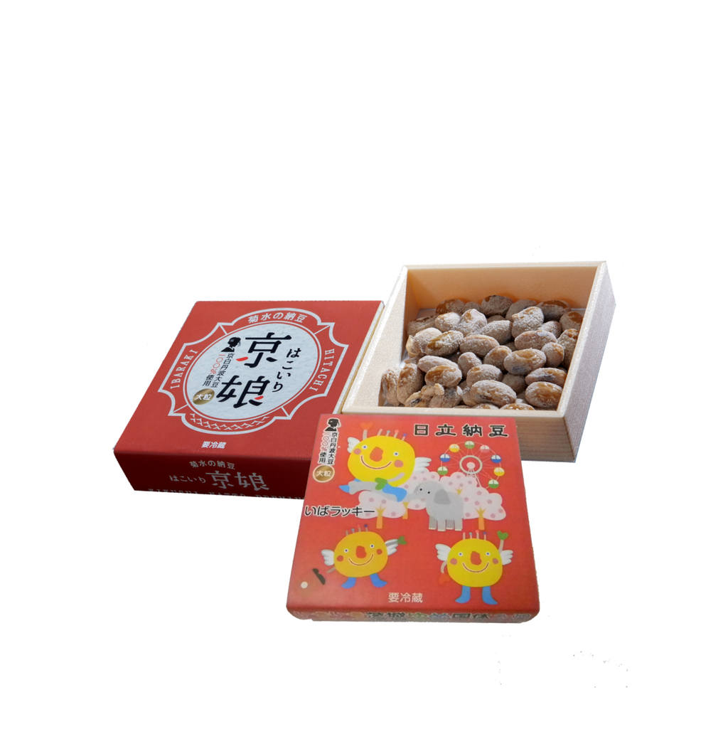いきいき茨城ゆめ国体2019オリジナル納豆「いばラッキー納豆」京白