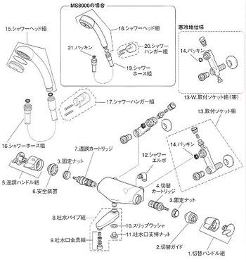 MYM MC8000 分解