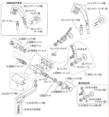 MYM MC8230 分解