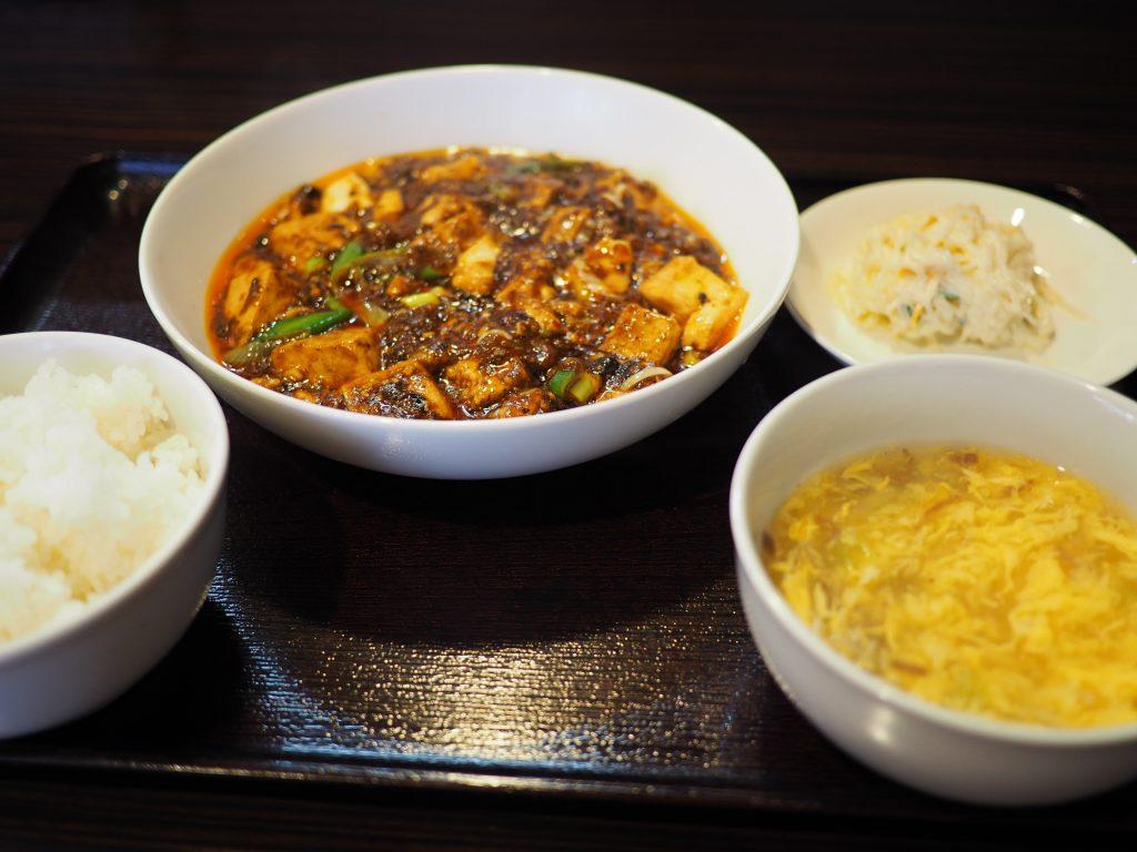 行列ができる大人気の四川麻婆豆腐ランチは癖になる味わいです! 西区立売堀 「チリレンゲ」
