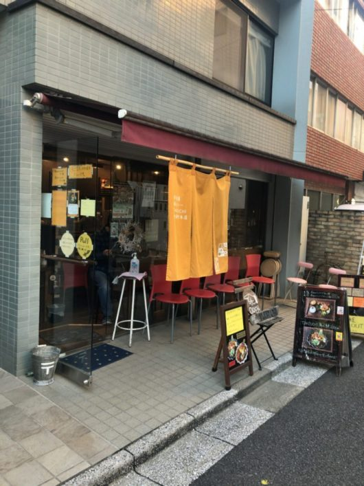 洋食膳 海カレー TAKEUCHI 今回はハンバーグではなく2種のカレーが一度に味わえるメニューで!