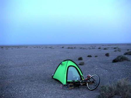 ☆自転車で世界一周☆:テント ...