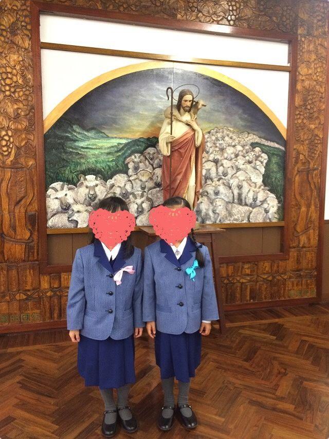 入学式 ~小林聖心女子学院小学校~ : けいkids+まり先生のブログ