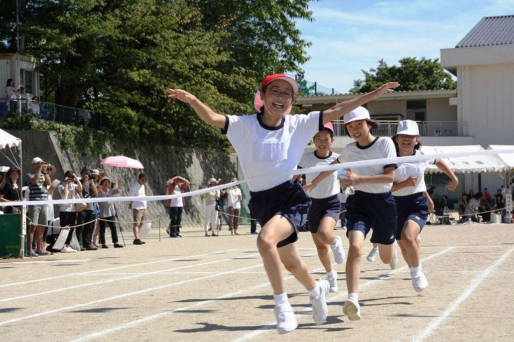 けいkids+まり先生のブログ : 大阪府箕面市 聖母被昇天学院小学校 運動会レポート