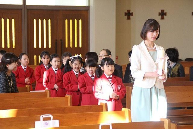 昇天 学院 被 聖母