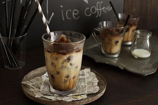 アイス派に!氷コーヒーでおうちカフェ