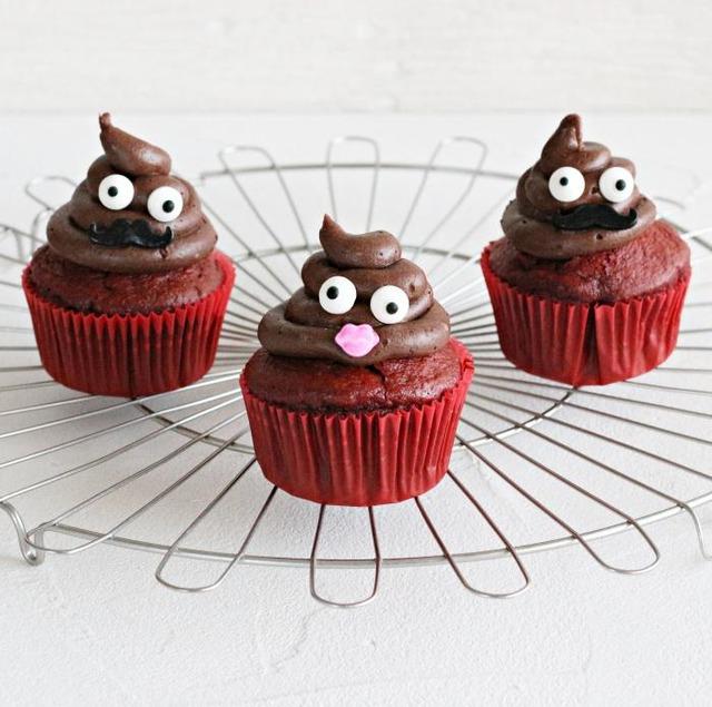 インパクト大のバレンタイン! うんこカップケーキの作り方
