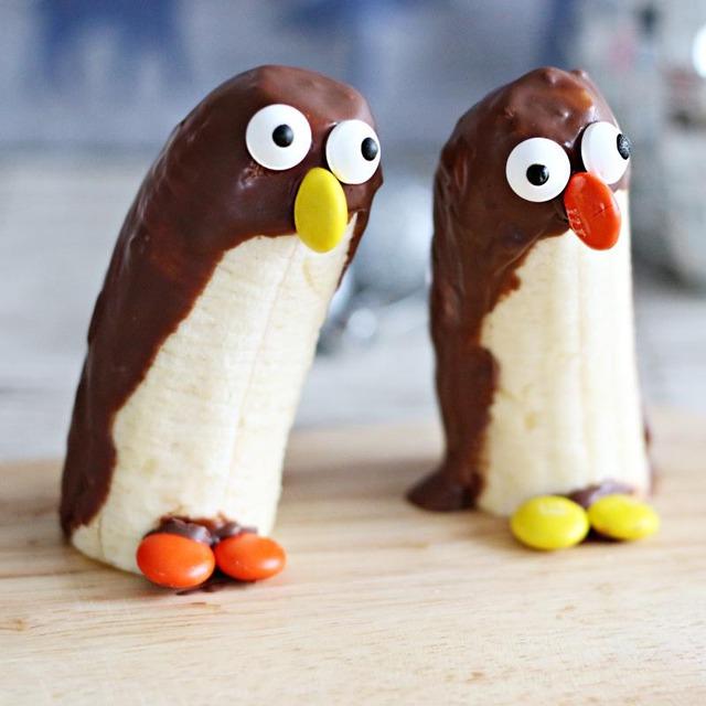 みんな大好きチョコバナナ♪ 可愛いペンギンバージョン