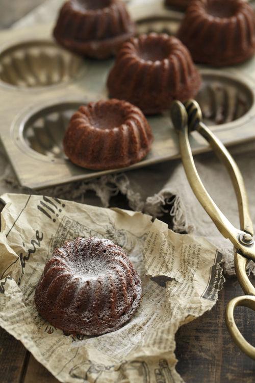 チョコレート味のミニクグロフ