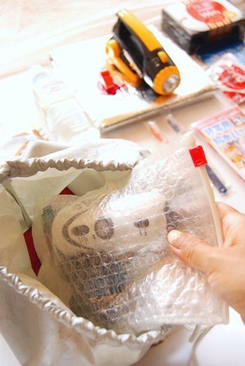 「防災週間」に非常用持出袋の中の簡易充電器チェック