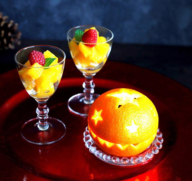 オレンジピールランタン