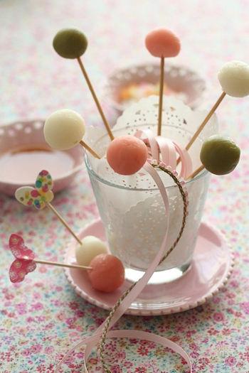 簡単かわいい、ひな祭りの手づくりお菓子