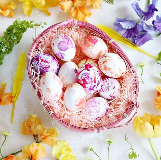 イースター 卵 イースターエッグ 作り方 簡単