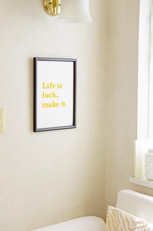 金色おりがみで作るメッセージボード