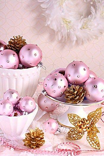 ◆クリスマスNo.7 クリスマスボールにデコアレンジ