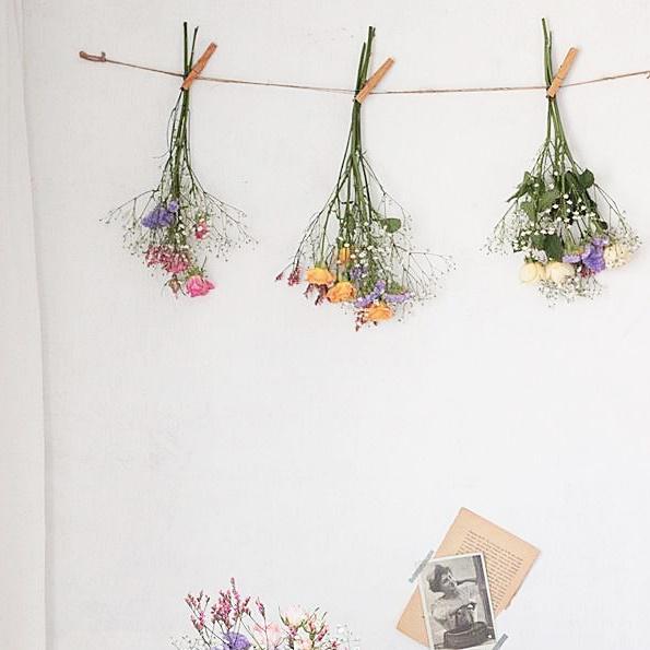 【母の日の贈り物】もらった花束をドライフラワーにする方法