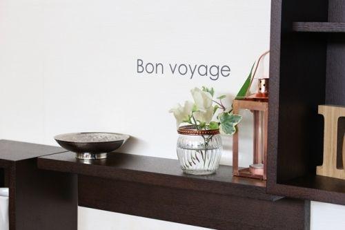 春の花を愉しむ&簡単・壁づけ収納棚